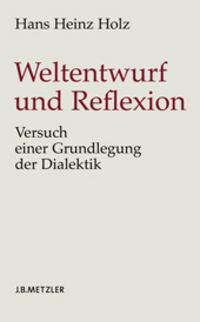 Cover Weltentwurf