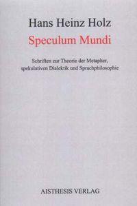 Cover Speculum Mundi